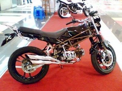 gambar modifikasi motor Modifikasi Motor Honda Win 100
