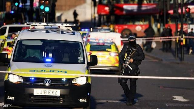 حادث طعن بسكين داخل مسجد شمالي العاصمة لندن.