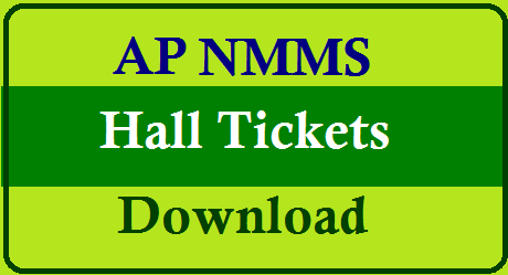 AP NMMS Exam Admit Cards/Hall Tickets Download @ www.bse.ap.gov.in