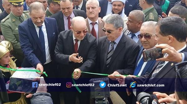 وزير الشؤون الدينية يوزع إعانات عينية و مالية على  مستحقيها بالشلف