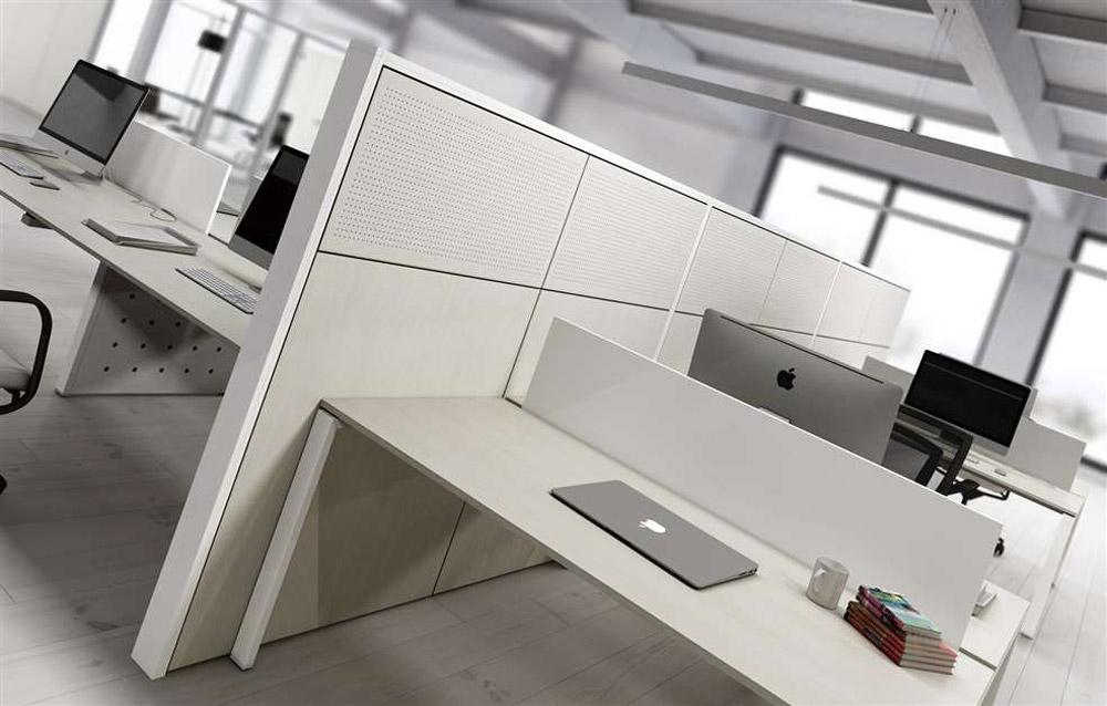 pareti ufficio moderne