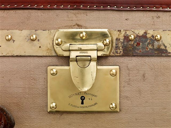 {design inspiration | collections : trunk locks by moynat, paris}
