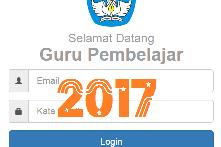 Cek Info GTK MELALUI LAMAN SIM PKB(Tahun) Pelajaran 2017/2018
