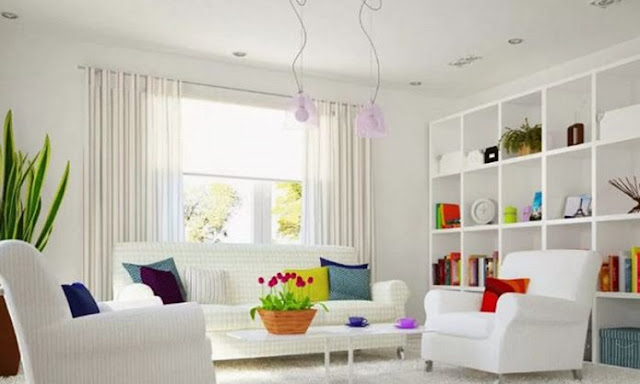 Contoh I: Desain Rumah Minimalis Sederhana | Ruang Tamu