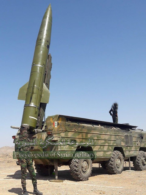 Syrian ballistic missile force SYRIAN missile power  Tochka  ss-21