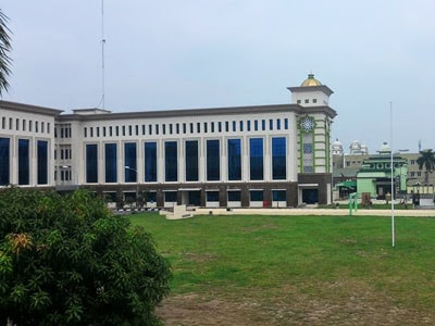 gedung madinah al-munawaroh asrama haji medan