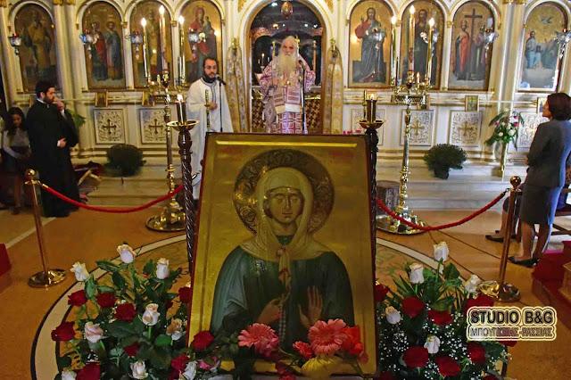 Αρχιερατική Θεία Λειτουργία στον Άγιο Νικόλαο Πυργέλας από τον Μητροπολίτη Αργολίδος Νεκτάριο