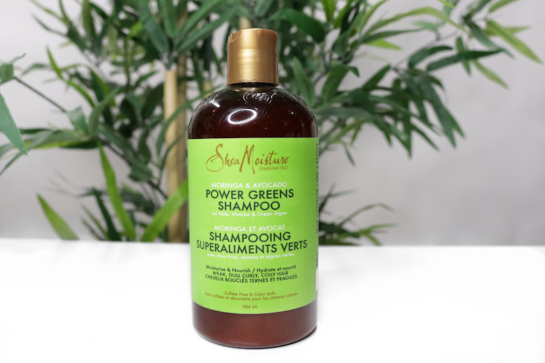 Shea Moisture Moringa & Avocado Power Greens Line - 4 Step Power Regimen | www.HairliciousInc.com