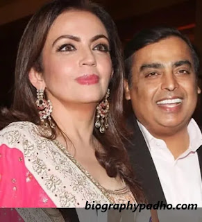 mukesh ambani wife nita ambani photo