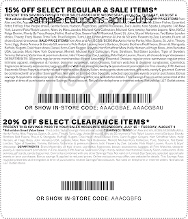 Lord & Taylor coupons for april 2017