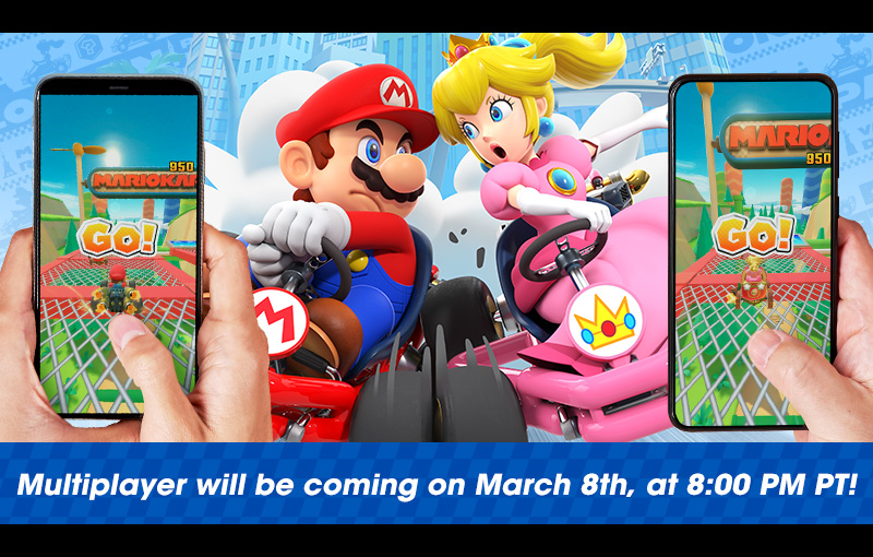 Multiplayer for MarioKartTour