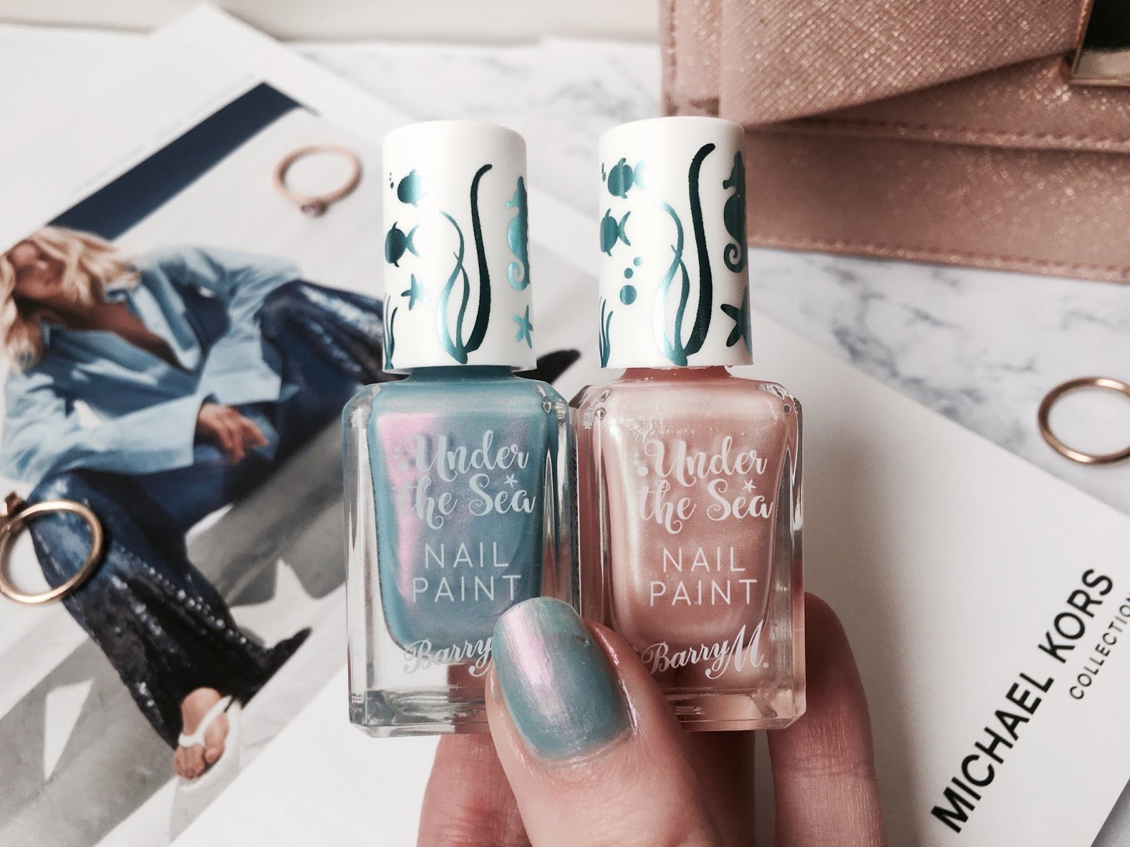 Barry M Under The Sea Nail Polish - Everything Erin