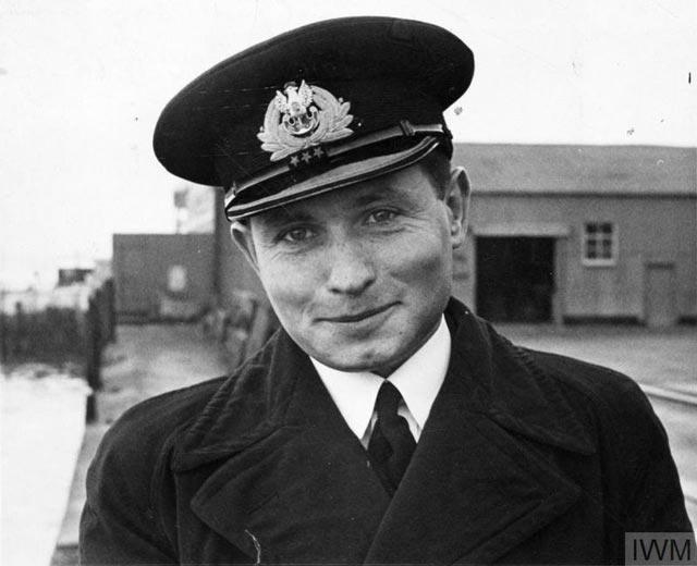 Commander Jan Grudziński, the Commander of the Polish Navy submarine ORP Orzeł (Eagle), 11 December 1939 worldwartwo.filminspector.com