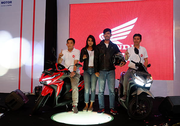 Launching All New Vario 150 dan 125 Balikpapan