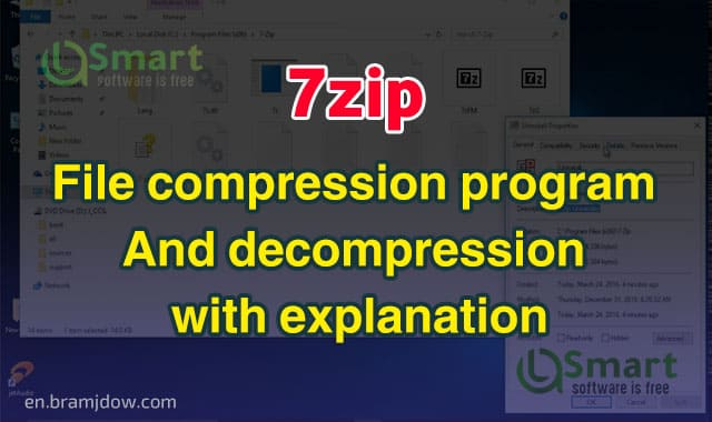 File compression program