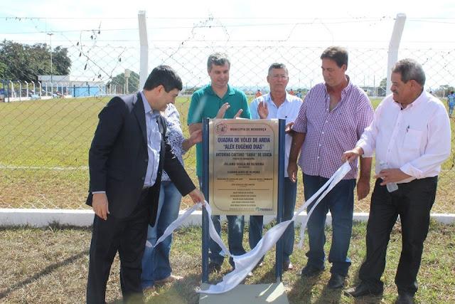 Complexo Esportivo é inaugurado em Mendonça