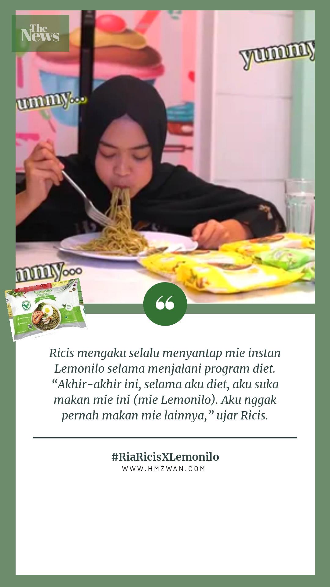 Mie Lemonilo Untuk Diet : lemonilo, untuk, Ricis, Umumkan, Bagi-Bagi, Brompton, IPhone, Anniversary, Lemonilo