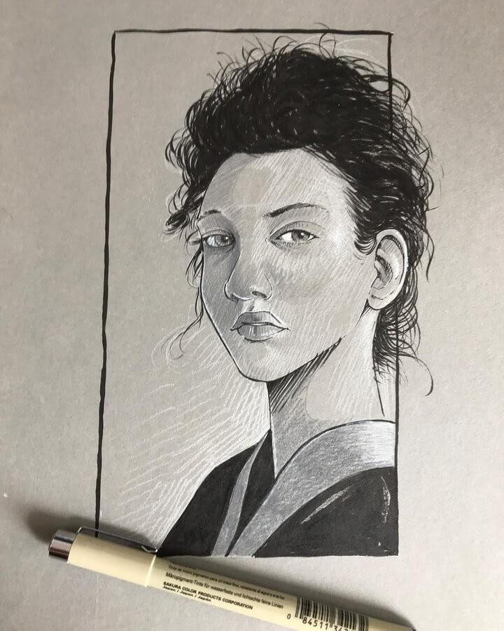 11-Sketch-portrait-Sebastien-Drillon-www-designstack-co
