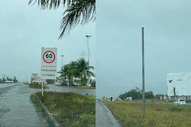 Radares estão sendo reinstalados em trechos da BR 101 em Esplanada e Entre Rios