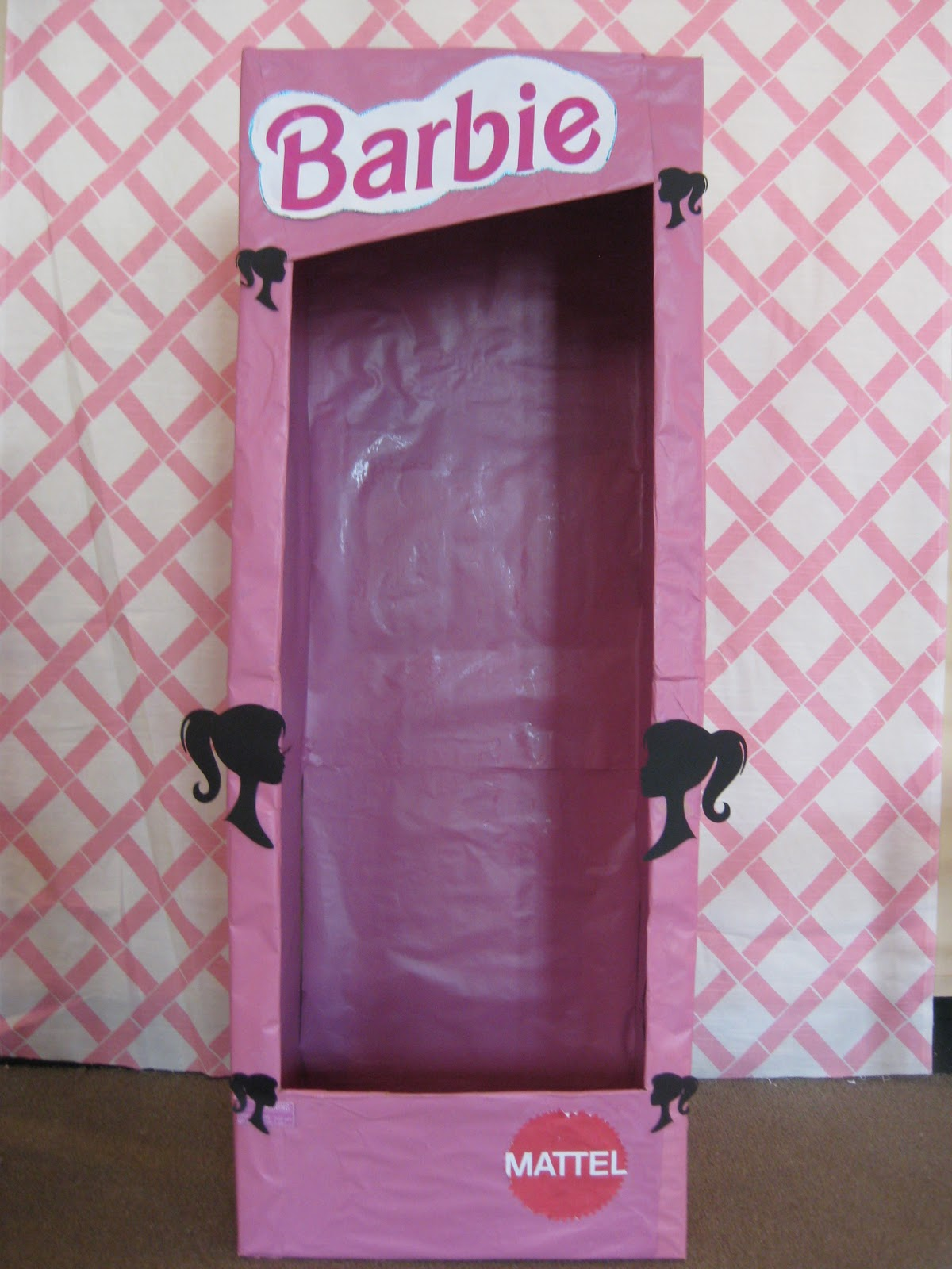 Photobox Party Swanky Chic Fete Pink Barbie Party A 5th Birthday Party