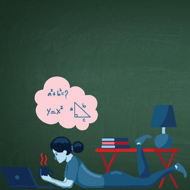 Gambar Kartun Anak Belajar di Rumah (16)