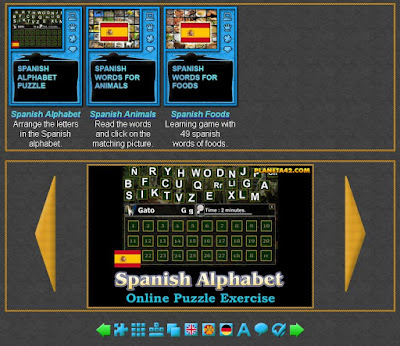 Spanish Learning Games