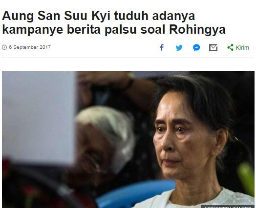 Suu Kyi: Banyak Hoax Dibuat Media, Aiman Witjaksono: ANEHNYA, Wartawan dan PBB Dilarang ke Myanmar