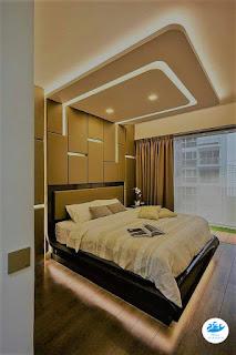 اسقف من جبس العصري لغرف النوم