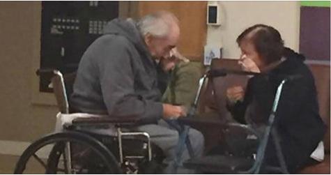 Casal de idosos é forçado a se separar por não conseguir vaga no mesmo asilo