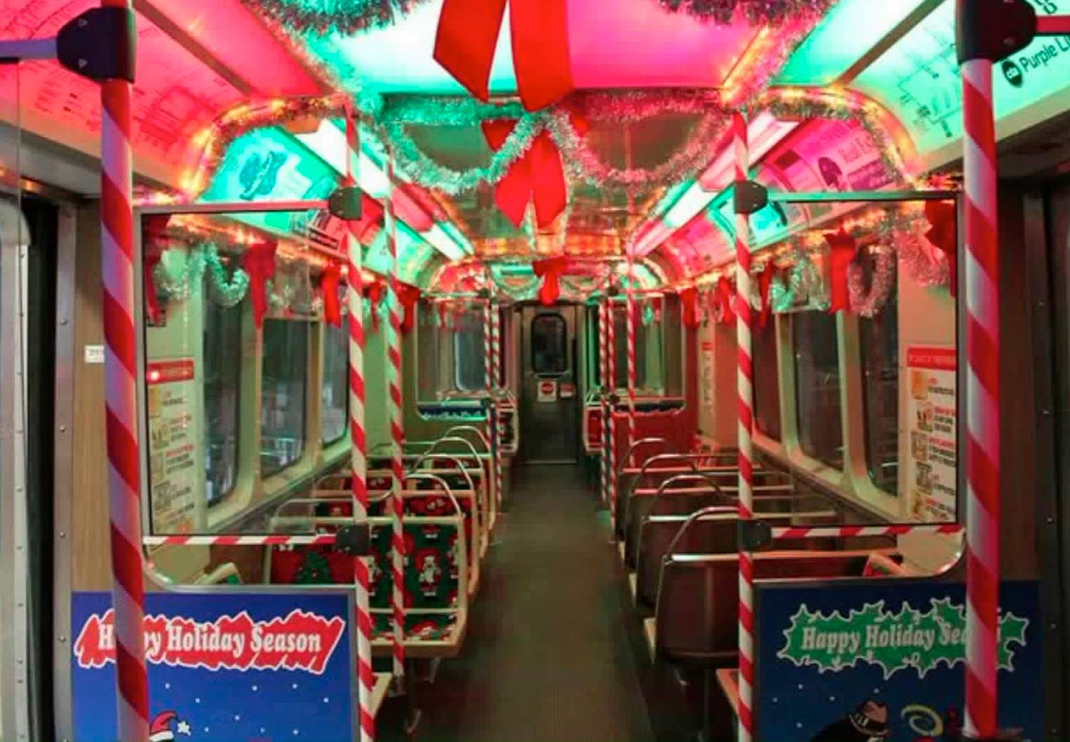 Riders Will Be Greeted By Santas Elves With Plenty Of Candy Canes For Good Boys And Girls