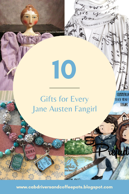 10 Gifts for Every Jane Austen Fangirl