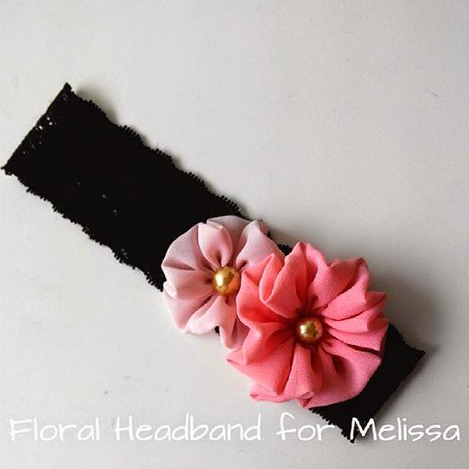 Ini headband Melissa yang pertama. Tak sangka ada yang nak order. Buat  lebih pun sebab ada kawan mintak untuk anak dara dia. So buat untuk  kawan-kawan je 946534a3edb