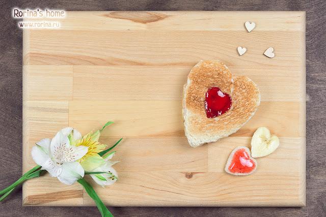 рецепт сладкого завтрака на 14 Февраля