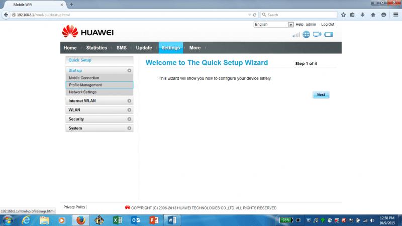search option for SIMlock / Unlock / NCK.
