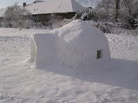 iglo van sneeuw