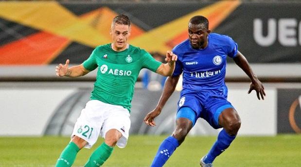 Ligue Europa: Michaël Ngadeu et la Gantoise s'imposent  face à Saint-Etienne