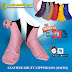 Leather Khuff Zipperless (Socks)