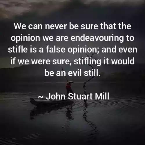 John Stuart Mill sayings