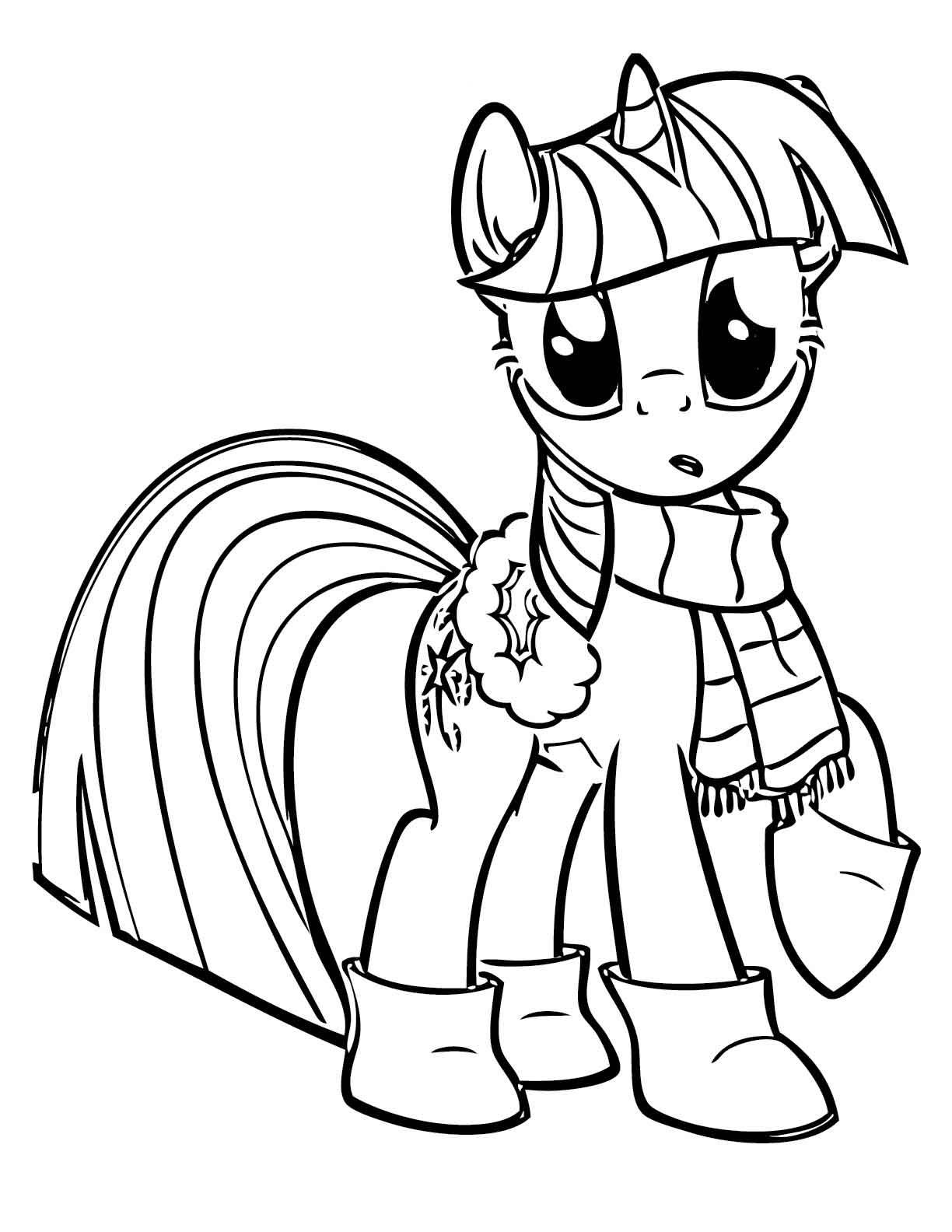 РАЗВИТИЕ РЕБЕНКА: Раскраски My Little Pony (Мой маленький ...