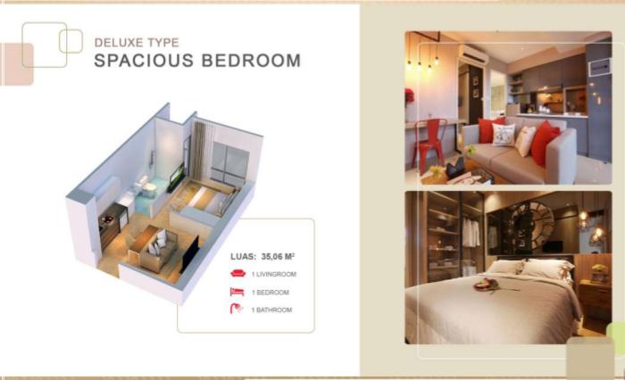 Deluxe Room, Design Deluxe