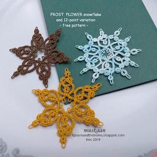 Frost Flower Snowflake by Muskaan