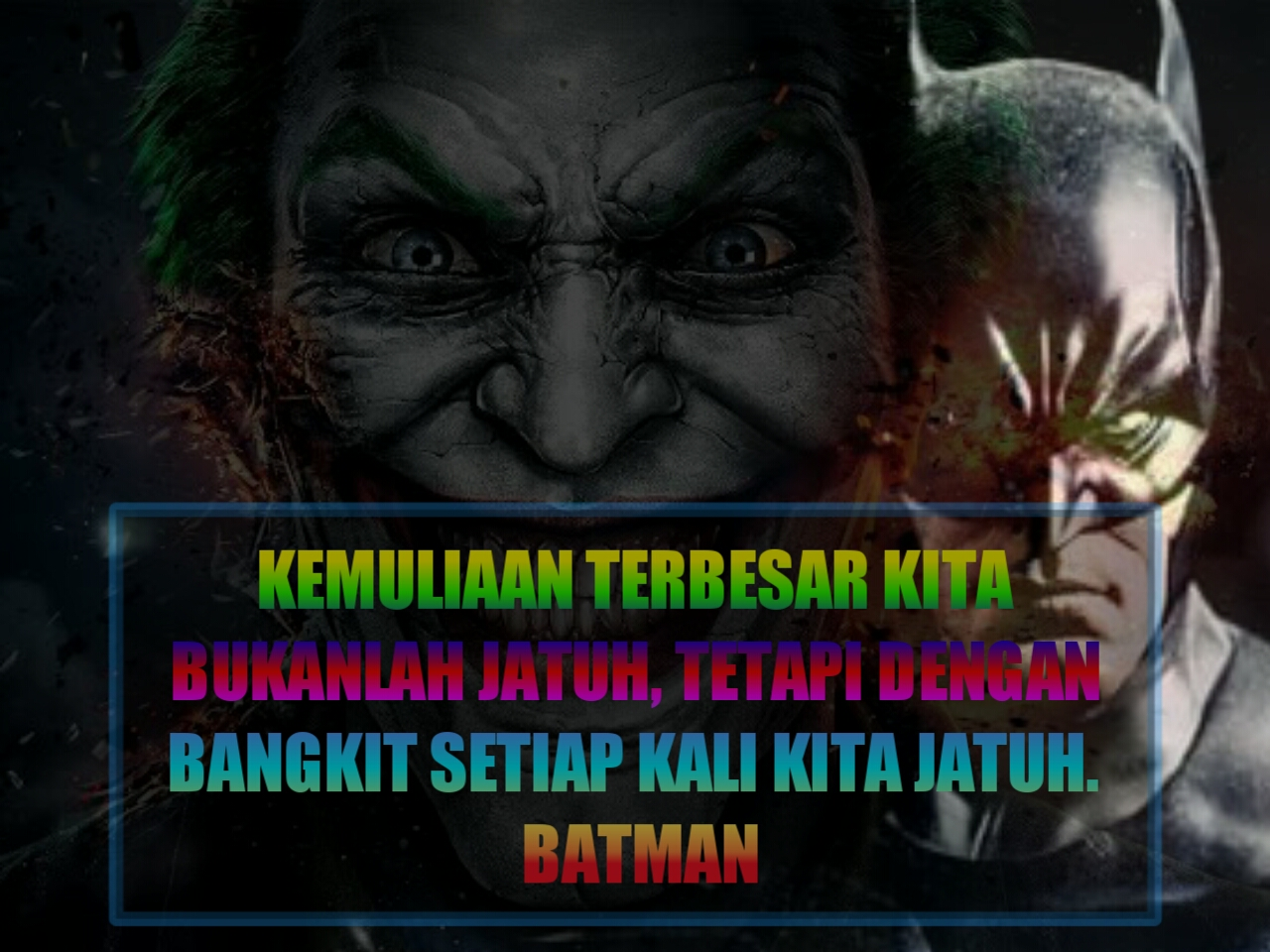20 Kata kata joker quotes bijak joker dan kata kata batman status whatsapp fb instagram