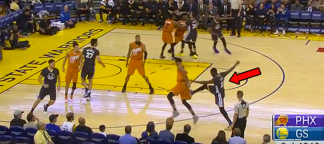 Draymond Green Kicks Marquese Chriss (VIDEO)