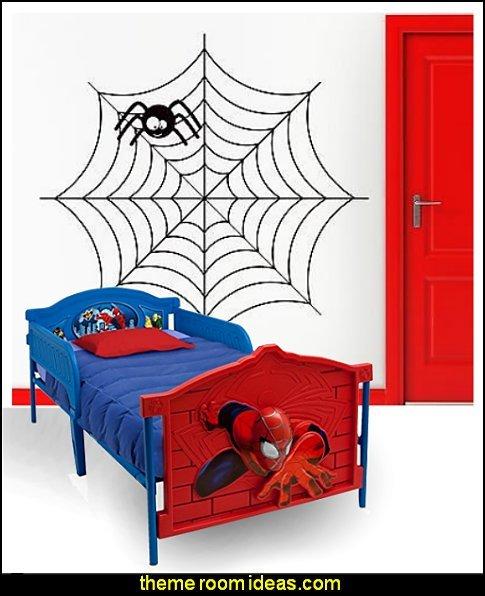 SPIDERMAN BEDROOM FURNITURE Spiderman Web bed spiderman room decor