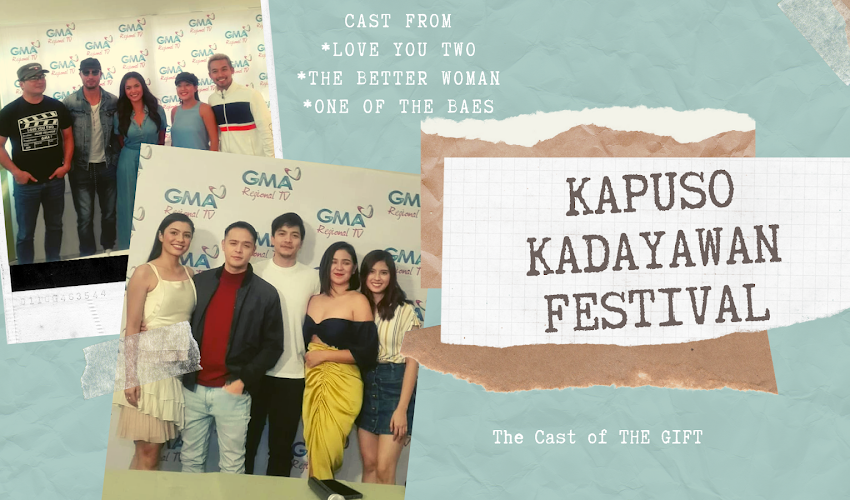 GMA Network Blogcon with Kapuso Stars in Celebration of the 34th Kadayawan Festival