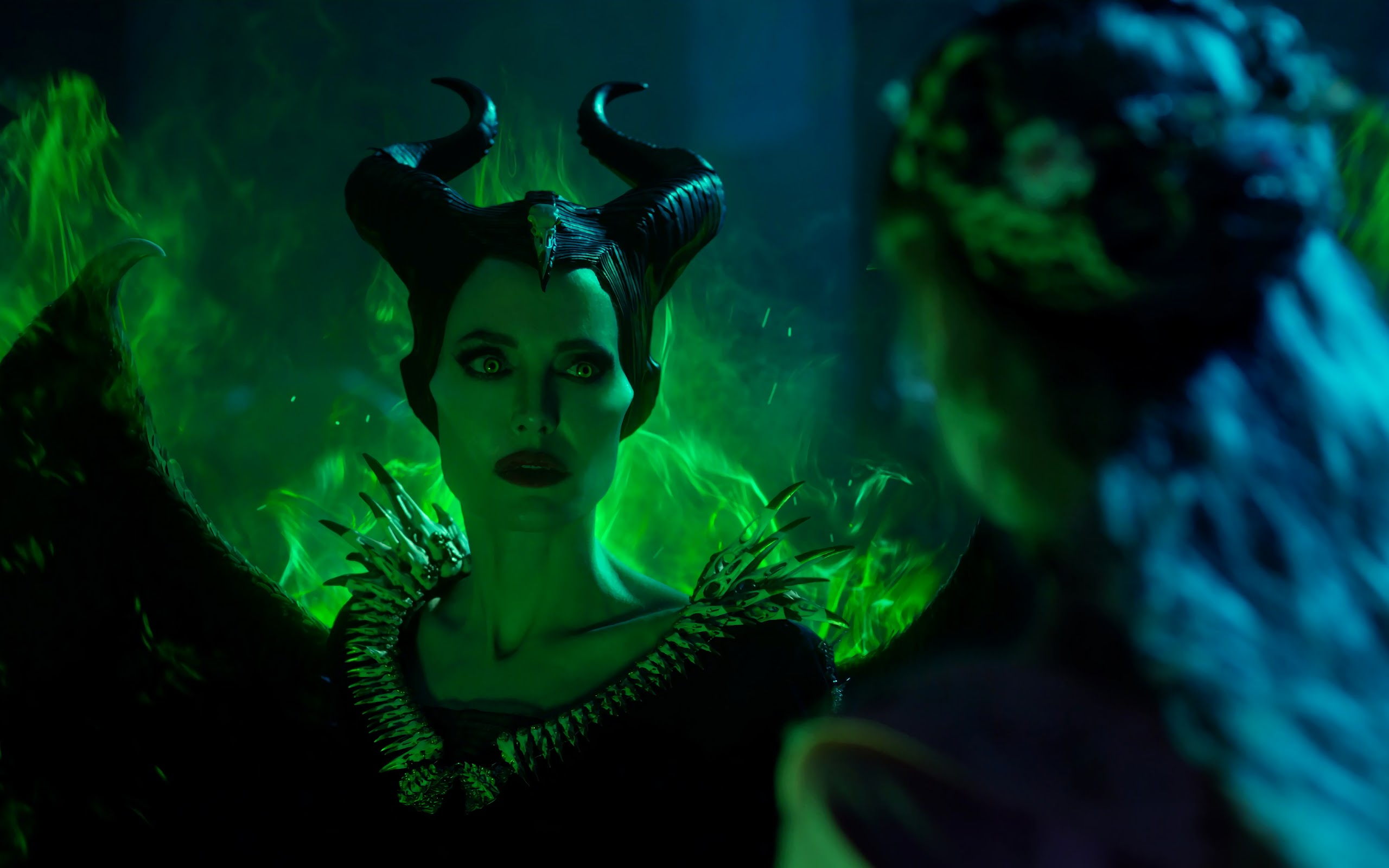 Maleficent 2 Angelina Jolie 4k Wallpaper 1