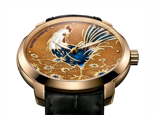 Ulysse Nardin Classico Rooster inclinado