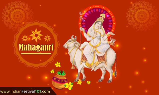 Maa Mahagauri - Eighth Day of Navratri