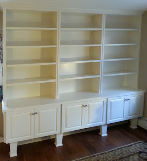 Traditional Hutch Style Bookcase