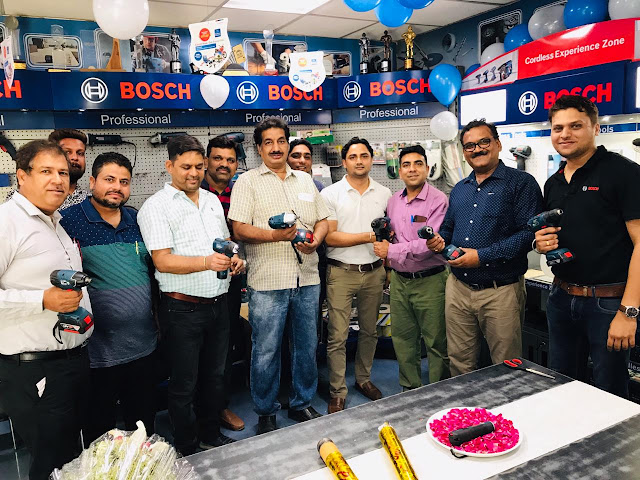 Invented for a better life, Bosch Power Tools launch the user campaign for cordless products, 'Cordless matlab BOSCH' across the country